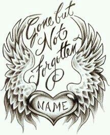 Download Gone but not forgotten | tattoo | Pinterest
