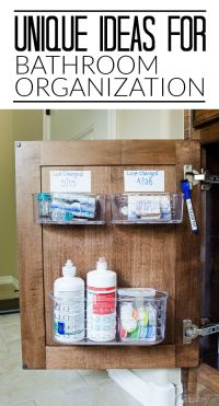 25+ best ideas about Bathroom Sink Organization on ...