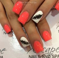 1000+ ideas about Feather Nail Designs on Pinterest ...