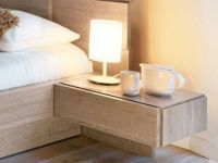 Wall Mounted Nightstand With Drawer