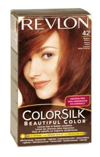 Revlon colorsilk hair colour 42 medium auburn | Kikay Kit ...