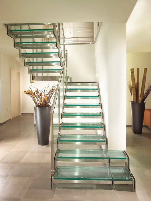 17 Best Images About Glass Staircase On Pinterest | Stairs With Glass Sides