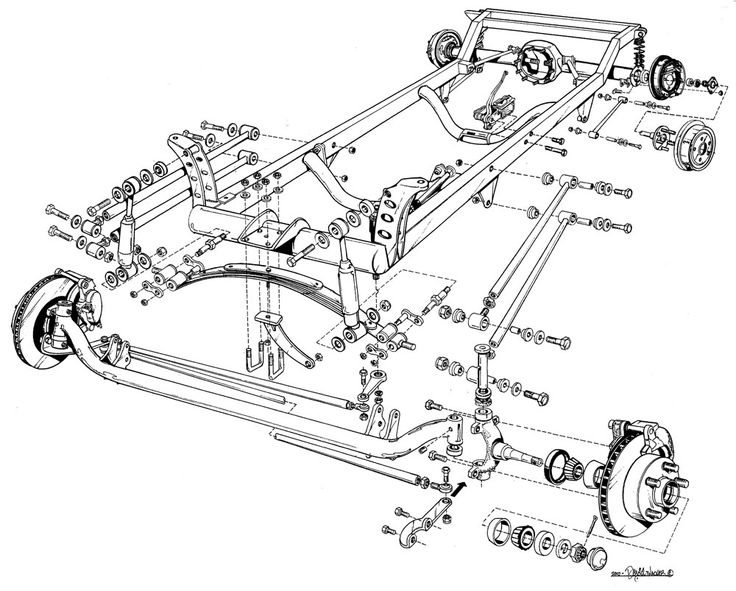 1930 Ford Steering Diagram, 1930, Free Engine Image For
