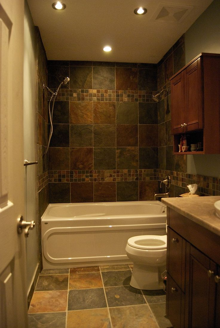 Top 25 ideas about Slate Bathroom on Pinterest  Dark