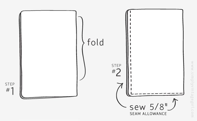 Sewing Tutorial: How to Make a Pillow Case Easy