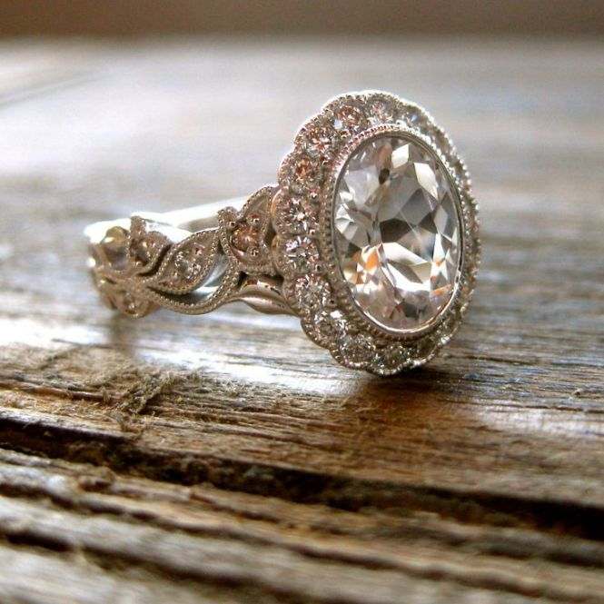 17 Best Ideas About Champagne Engagement Rings On Pinterest