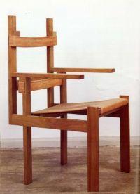 Bauhaus. Elska Slatted Chair, Marcel Breuer 1924