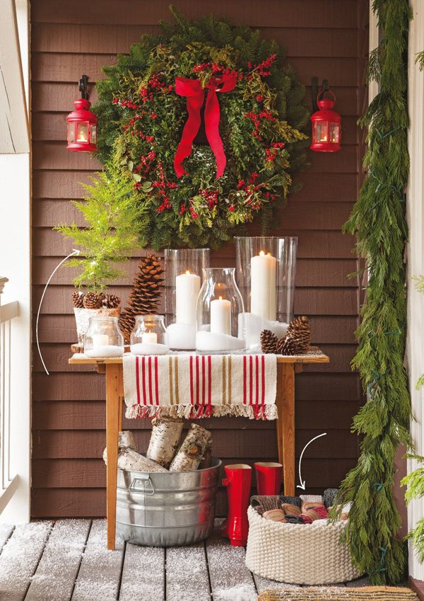 25 Best Ideas About Traditional Outdoor Holiday Decorations On