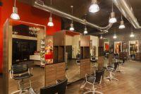 Hair salon decoration idea | Salon Station Areas ...