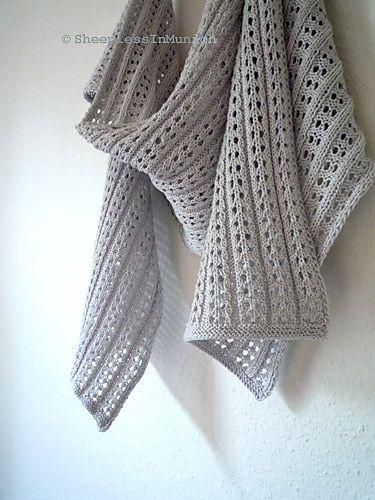Summer Scarf Crochet Pattern Holliddays