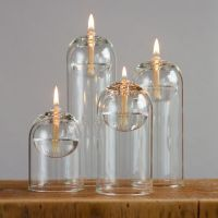 Oil lamps glass oil candle