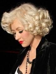christina aguilera - hair style