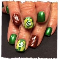 23 best images about Packers nails on Pinterest | Nail art ...