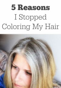Stop Coloring Gray Hair