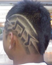 hair design men lines fresh