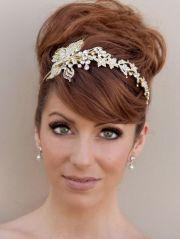 brides wedding flower headbands
