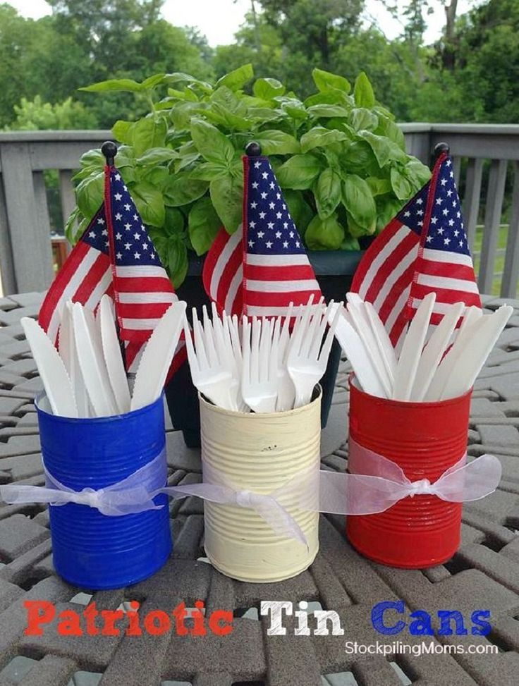 Americana Summer Yard Decorations Ideas