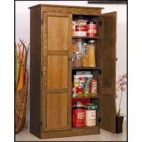 Hodedah Hi224 White 4 Door Pantry Cabinet | Pantry ...