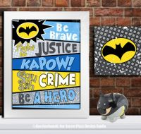 25+ best ideas about Batman room decor on Pinterest