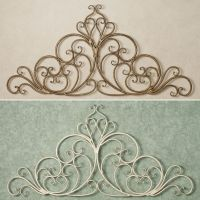 1000+ ideas about Wrought Iron Wall Decor on Pinterest