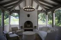 Castro Design Studio: Enclosed sunroom with vaulted ...