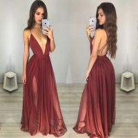 78+ ideas about Maroon Prom Dress on Pinterest | Ball ...
