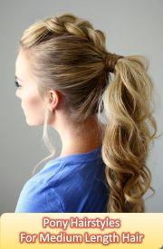 pony hair ideas