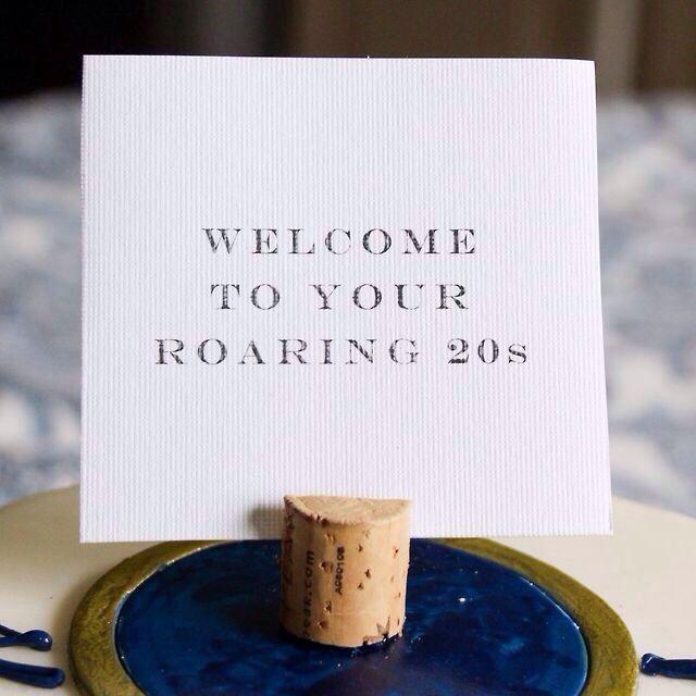 20th Birthday Party Birthday Pinterest Roaring 20s