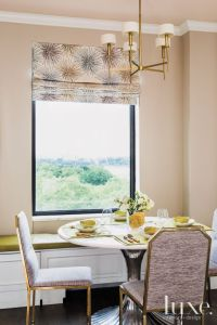 Modern Breakfast Nook with Chandelier | Dining Rooms ...