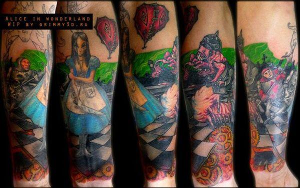 31 best Dark Alice tattoo ideas images on Pinterest