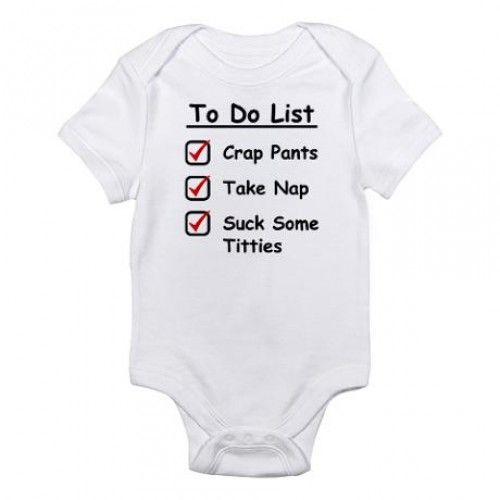 Hilarious baby onesiesFor more funny onesies and humor