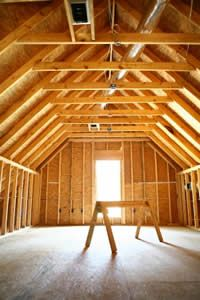 Unfinished Attics A Remodeling Opportunity Attic Ideas Pinterest
