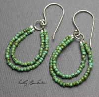 25+ best ideas about Beaded Earrings on Pinterest | Seed ...