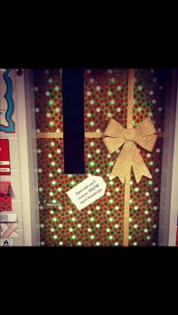December Classroom Door Decoration Idea | School ideas ...