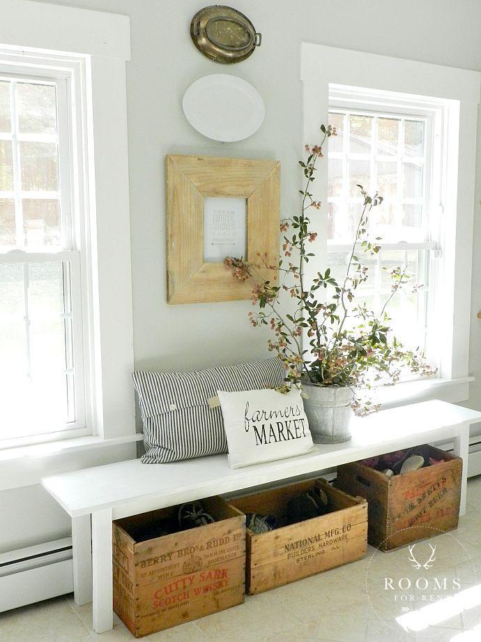 Best 25 Living Room Bench Ideas On Pinterest