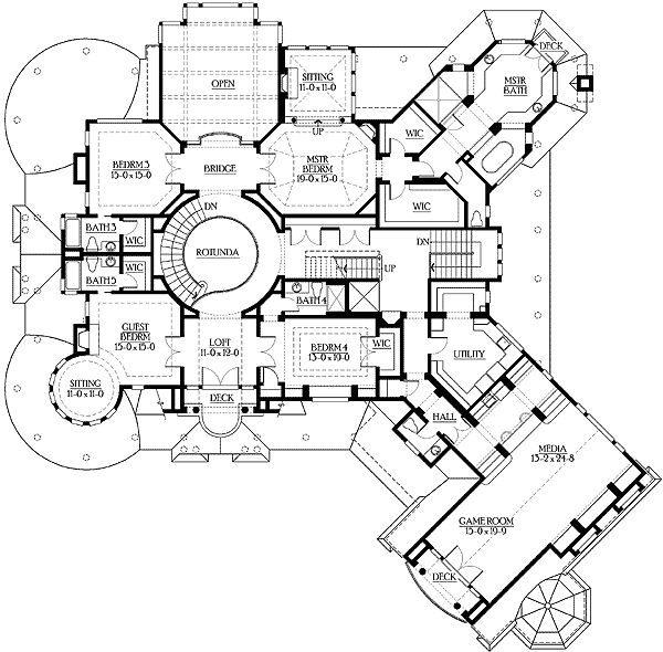 293 best Home Design Blueprints images on Pinterest