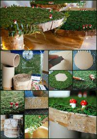 Step by step DIY baby shower woodland animals / fairy ...