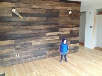 Wooden accent wall | Ideas for the House | Pinterest ...