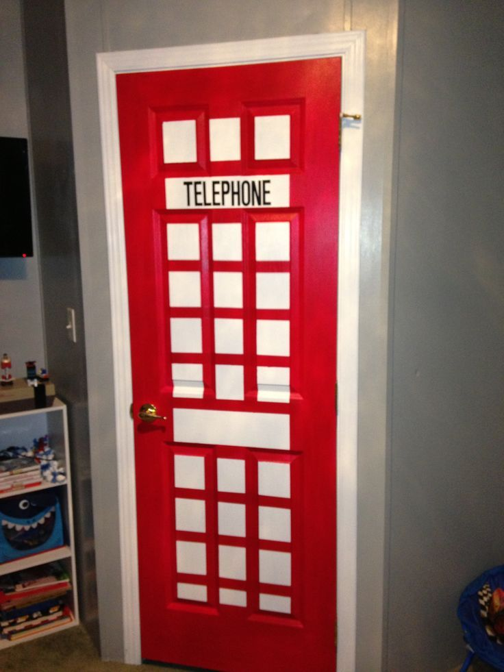Supermans Telephone Booth Think I will do this on the inside of my classroom door  Super