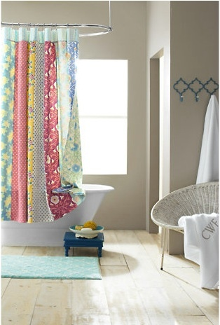 1000 images about Quilted Shower Curtains on Pinterest  Old quilts Ruffled shower curtains