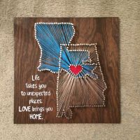 17 Best ideas about String Art States on Pinterest | Diy ...