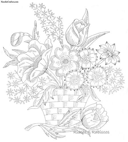 17 Best images about Flower Coloring Pages on Pinterest