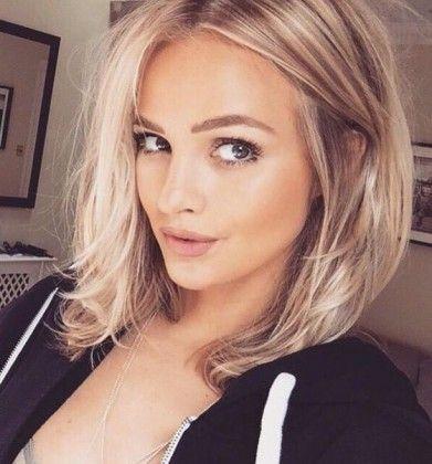 The 25 Best Shoulder Length Blonde Ideas On Pinterest Shoulder