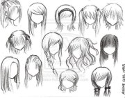 braided hair drawing - google