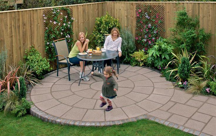 Small Backyard Paving Ideas Practical Simple Garden Paving