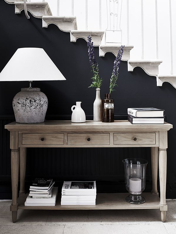 25 best ideas about Hall table decor on Pinterest  Foyer
