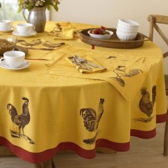 Nook Style Kitchen Table Waterstone Annapolis Faucet Roosters, Tablecloths And Farmhouse On Pinterest