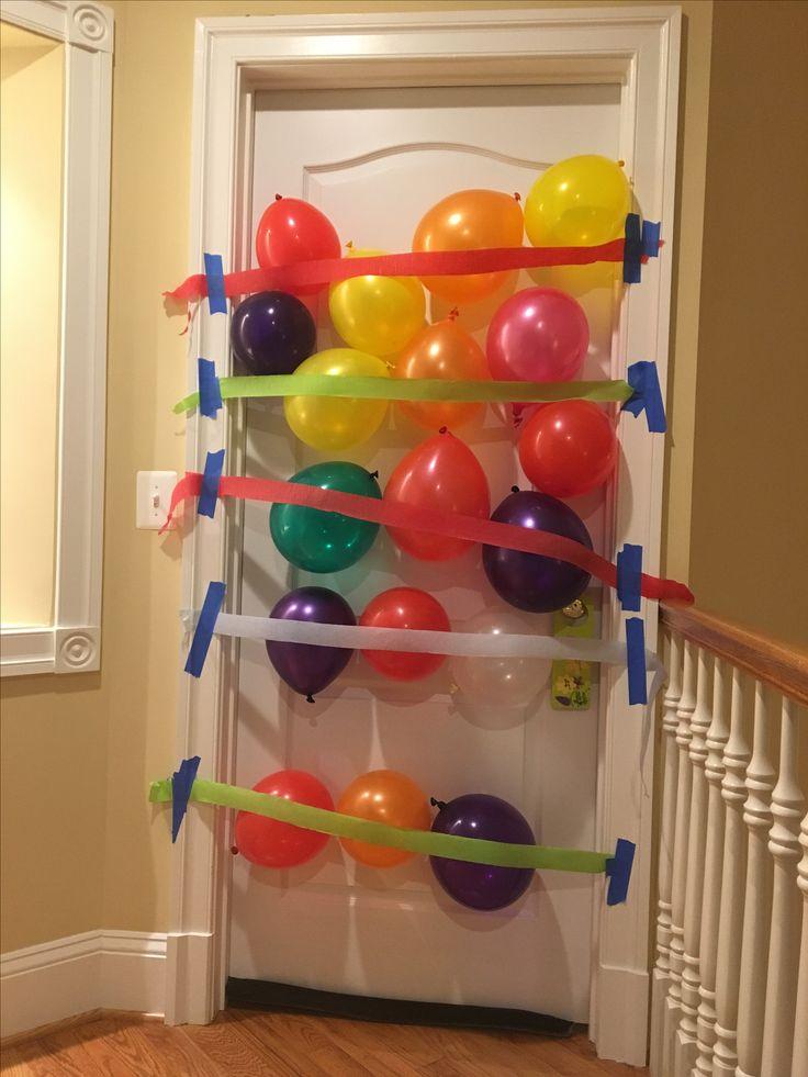 17 Best ideas about Balloon Door Surprise on Pinterest