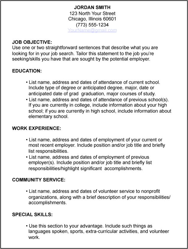 resume work experience examples converza co