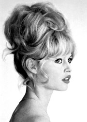 brigitte bardot wedding hair